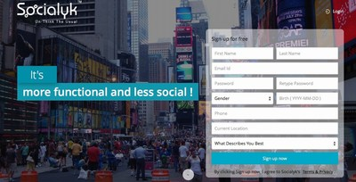 Socialyk, the world's first human centric SaaS based networking platform