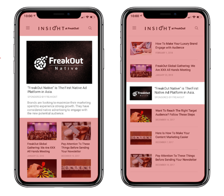FreakOut about the future of native ads