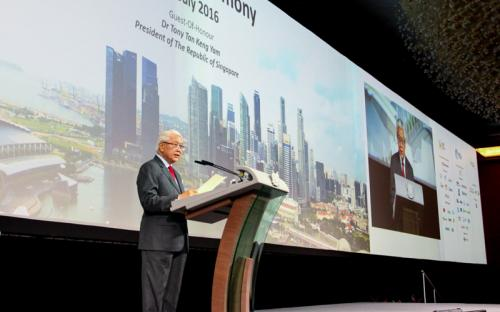 Close to 1,000 companies showcased innovative solutions at World Cities Summit, Singapore International Water Week and Cleanenviro Summit Singapore 2016