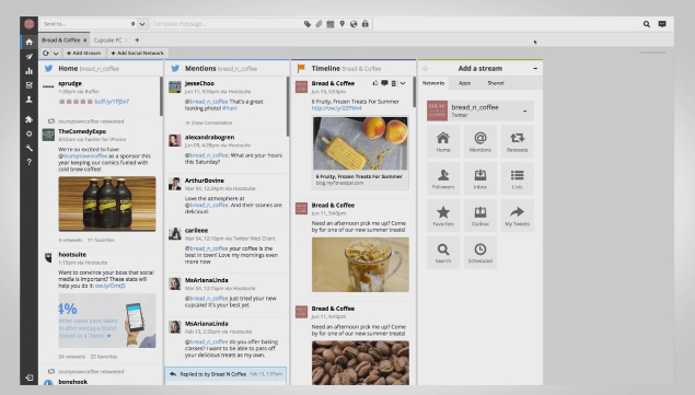 Hootsuite gives organizations the flexibility to access their digital assets directly from their content source of choice