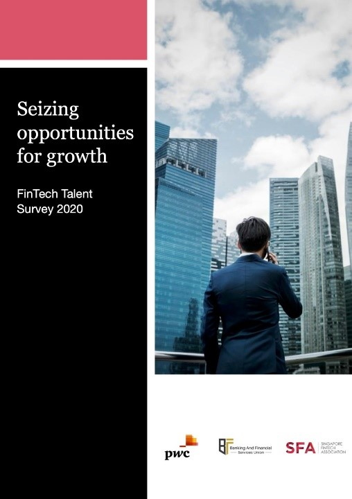 Singapore FinTech Association and PwC launched FinTech Talent Report 2020