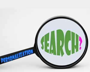 Find instead of search: Personalized content on the web is becoming the norm