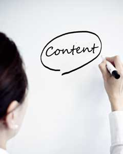 Content is key in website optimization