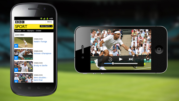 BBC Sport Streaming Service for 3G