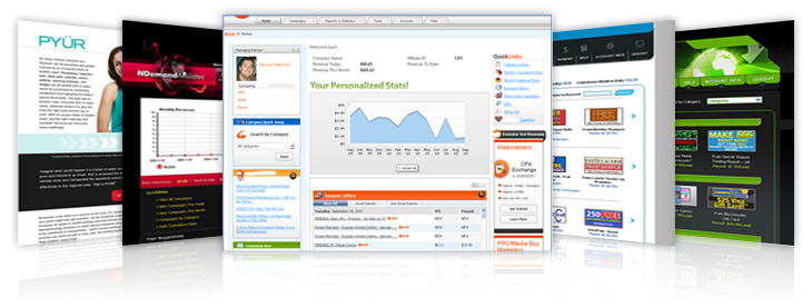 DirectTrack's performance driven marketing solutions that power any online business model