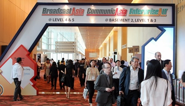CommunicAsia2013, EnterpriseIT2013 and BroadcastAsia2013 accomplished and accelerated rewarding business deals