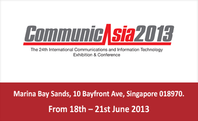 Global technology leaders meet next week at CommunicAsia2013 and EnterpriseIT2013