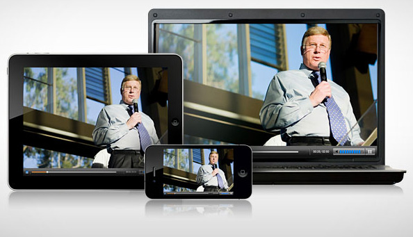 On-demand business video service across all platforms, all devices and all operating systems