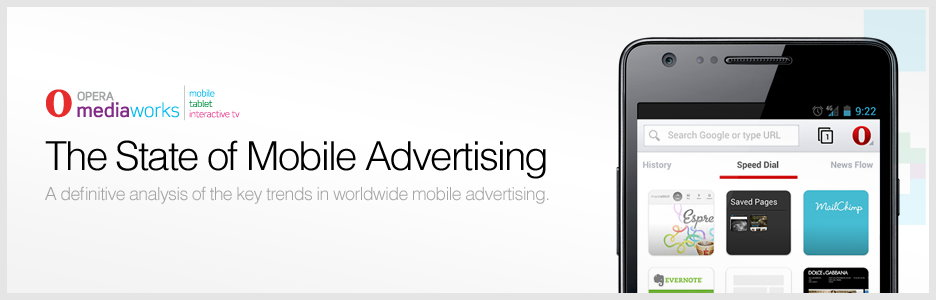 Opera points out top trends in mobile advertising