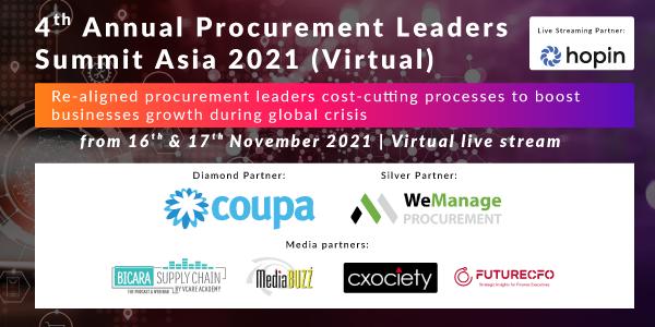 4ᵗʰ Annual Procurement Leaders Summit Asia 2021