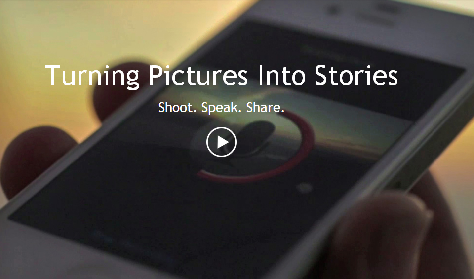 SpeakingPhoto: The app that turns pictures into stories could be useful for Scoopshoters during the world cup in Brazil