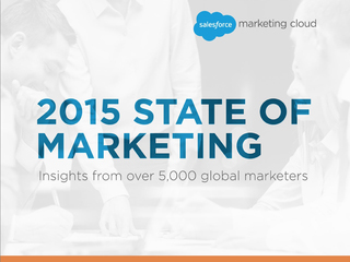 Salesforce reveals top priorities for marketers in '2015 State of Marketing Report'